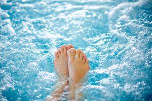soaking feet