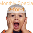 Monthly 2-for-1 SPECIALS